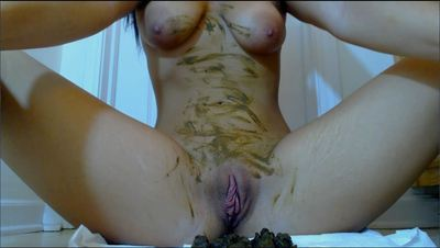 34577 - Smearing shit and dirty finger fucking