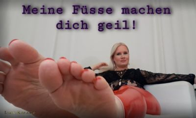 112915 - Big feet verbal humiliation