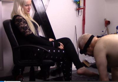 57082 - Lick my boots and swallow my ash