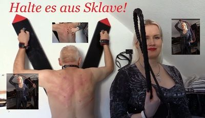 62921 - Hold it out slave!! 45 min of pleasure part4