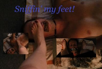 63011 - Sniffin' my feet