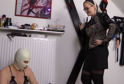 63227 - My sissy has to suffer