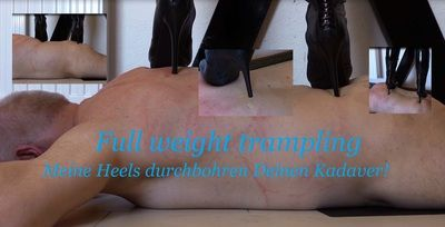 63400 - Full weight trampling