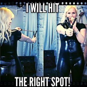 65220 - I will hit the right spot!