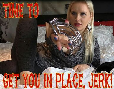 72797 - Time to get you in place, jerk!