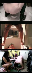45854 - Pissing Compilation (4 clips in 1 video)