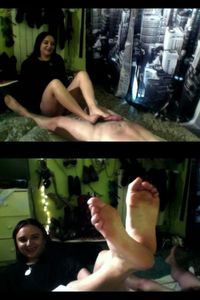 53873 - My Feet Are Made for Footjobbing