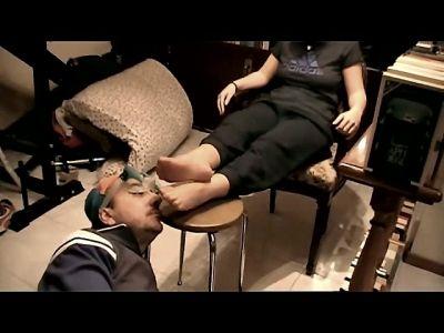 64746 - Cristina's Nylon Stockings Smell Bad