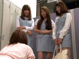 60000 - Jealous Office Ladies Ganged up on new girl! Part 1