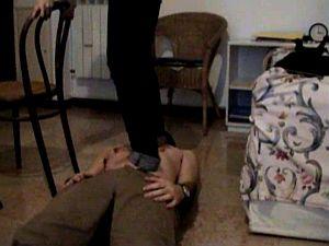 37400 - Belly Trampling... and Kicks
