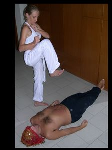 38663 - Karate Kiki is Ready for a Beatdown Lesson