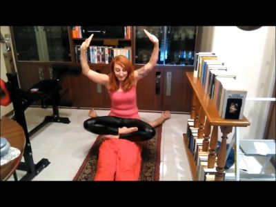 78282 - Doing Yoga Training On Fakir's Stomach (mp4)