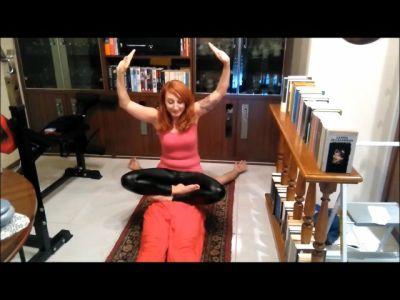 78282 - Doing Yoga Training On Fakir's Stomach (mp4)