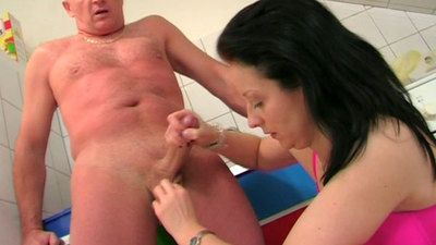 37713 - Kitchen Helper Handjob