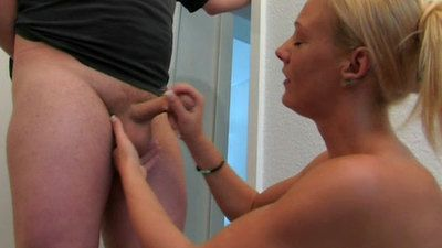 38449 - Denial Handjob Practice in the Morning