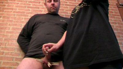 39164 - Cruel Balltorture Handjob with Minimized Orgasm