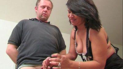40527 - Ruined Orgasm Handjob Fun