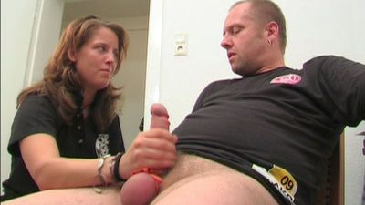 40677 - Cruel Ball bound Handjob