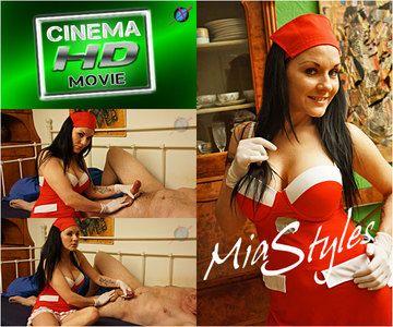43491 - Nurse Mia Styles Glove Job - FULL VERSION HD 720p - Produced by Twawer