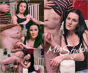 43870 - Mia Tease & Denial Handjob