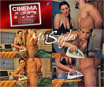 43881 - Mia Styles Ironjob Cum Burning