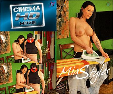 44818 - Mias Brutal Bare Breast Cum Ironing