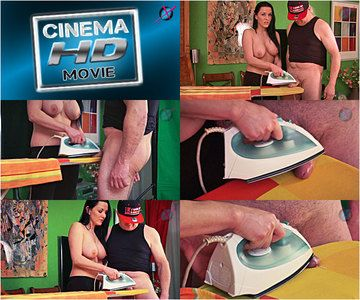 44821 - Mias Brutal Bare Breast Cum Ironing