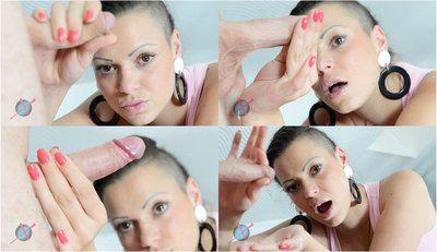 49780 - Punk Girl Handjob Action