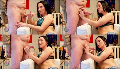 52616 - Mia Pissed Off of her Handjob Victim