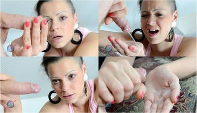 59127 - Punk Girl Handjob Action