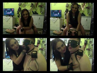 47560 - A Whole BDSM Session With Mistress Melissa - Part 7 - Verbal Humiliation and Slapping