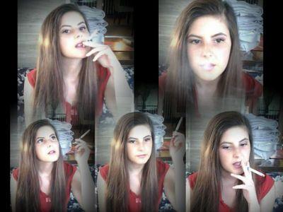 46181 - Smoking On A Bar Terrace