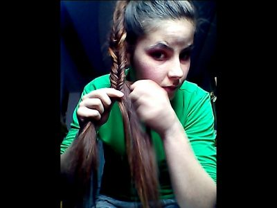 44669 - Braiding & Brushing My Hair Full Video