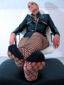 30434 - Lady Chantal Sado in Nylon Tease POV Video Clip 2
