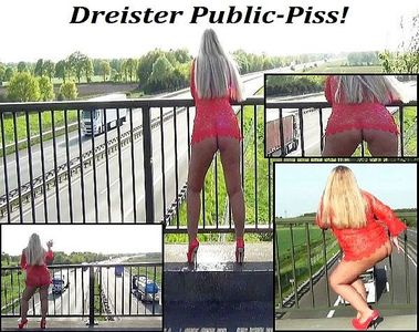 49632 - Brash Public-Piss motorway bridge!