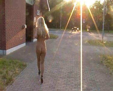49674 - Daring nude Piss rest stop toilet!