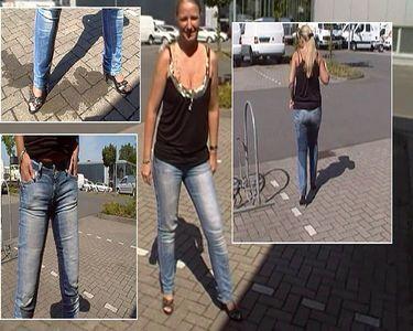 50808 - Public Jeans Pissing!