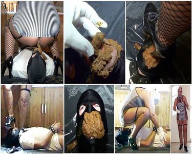 52545 - Very Hard Scat Female Domination! Brought new shit eater to its limits!