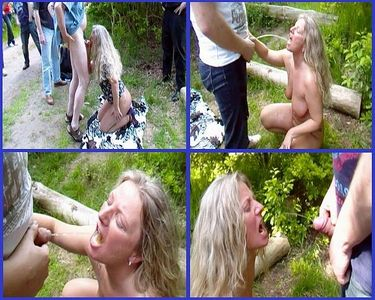 53055 - Public / Outdoor Piss drinking rest stop!