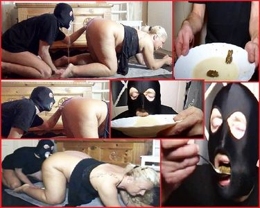 54747 - From my asshole, slave in doggy style, milk caviar cocktail shot in the mouth!