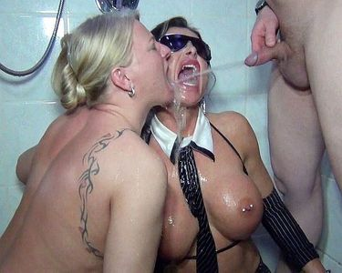 57295 - Jessy and Rosella's piss-Bang! Part 2!!