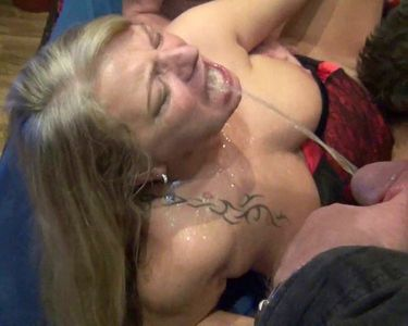 60249 - Public Extremely Cum and Piss Bukkake! Perverse mass besmirching! Part 3