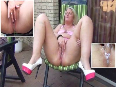 64342 - Cunt been filled by 3 guys and squirtet the sperm out!
