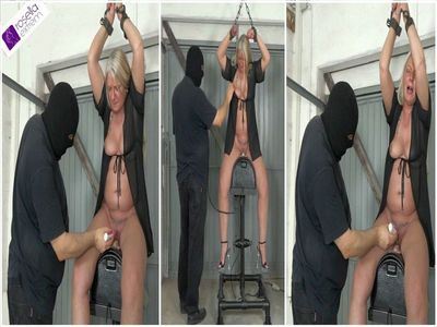 66868 - Rosella to visit at AmateureXtreme: Hard Sybian ride! Part 1