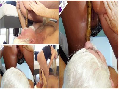 66943 - Fat shit sausage shitting in the Senior Slave mouth! Part 1