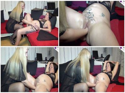 69908 - Pregnant girlfriend deeply fisted! Part 1