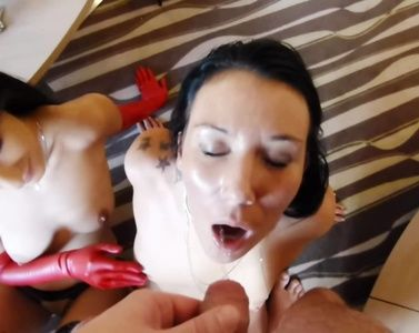 85091 - 2 girls are humiliated by their master 1