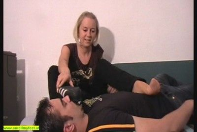 106662 - Nylon Feet Smelling 20