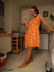 106764 - Bare Foot Food Crushing 24