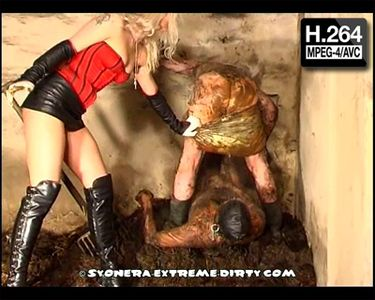 64198 - Goddess Syonera - Eat my Shit, you totally retarded dirty scumbags! - Part 11